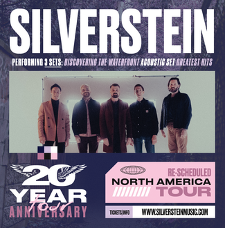 Image for SILVERSTEIN *Moved From Wonder Ballroom*