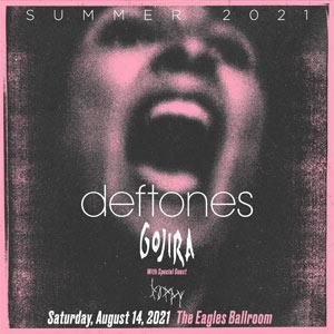 Image for Deftones Summer Tour 2021