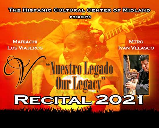 Image for NUESTRO LEGADO - OUR LEGACY RECITAL 2021