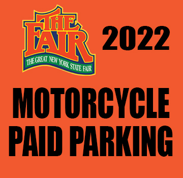 Image for Motorcycle 1 Day Parking: Aug. 20- Sept 6, 2021- Online Sale